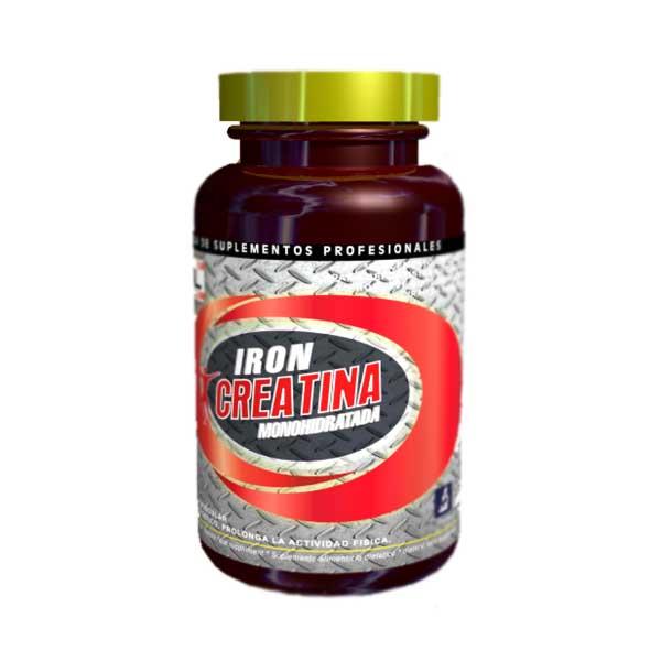Iron Creatina Monohidratada 60 Caps 500 mg