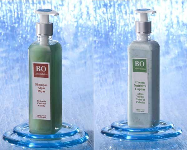 Ahorre en el Pack: Shampoo de Algas Rojas más Crema Capilar Nutritiva de Algas Verdes