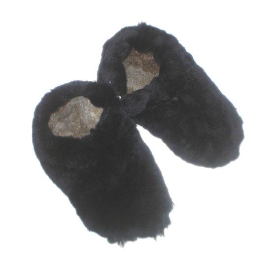 Zapatillas Negra de Oveja