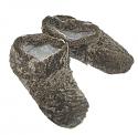 Zapatillas Caf� de Piel de Oveja